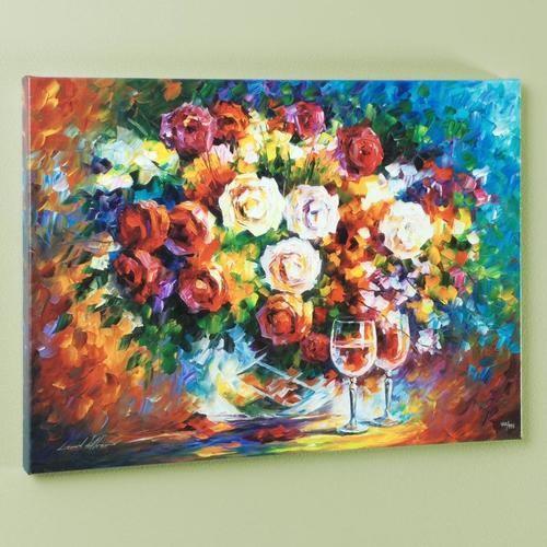 "Afremov ""Roses And Wine"""