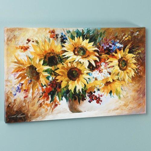 """Afremov """"Sunflowers"""""""