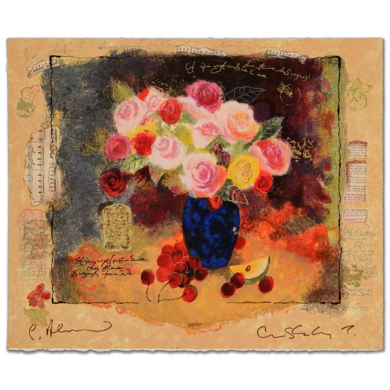 "Alexander And Wissotzky ""Still Life With Flower Bouquet"""