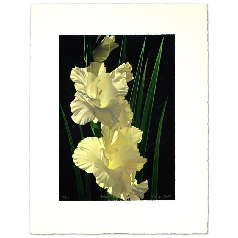 "Davis- ""White Gladiolas"""