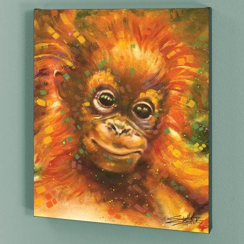 "Fishwick-"" Baby Orangutan"""