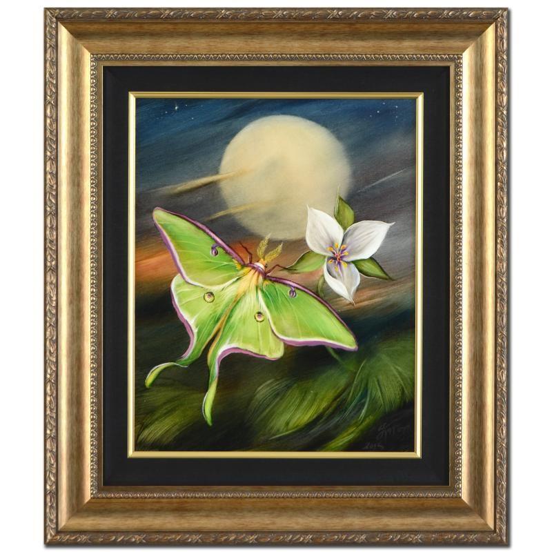 Katon Original Moon Flowers-Luna Moth