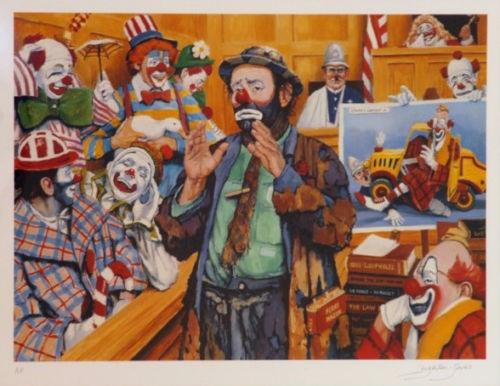 Leighton-Jones Jury Of His Peers AP