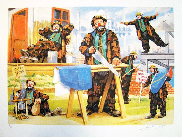 Leighton-Jones Men At Work