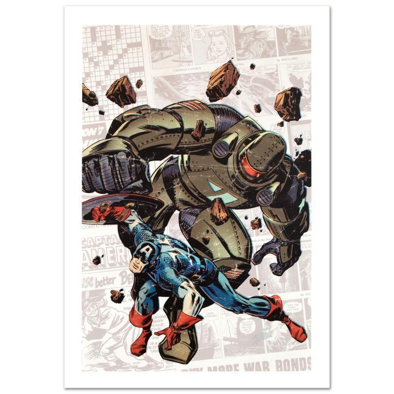 Marvel Captain America The 1940's Newspaper Strip #2