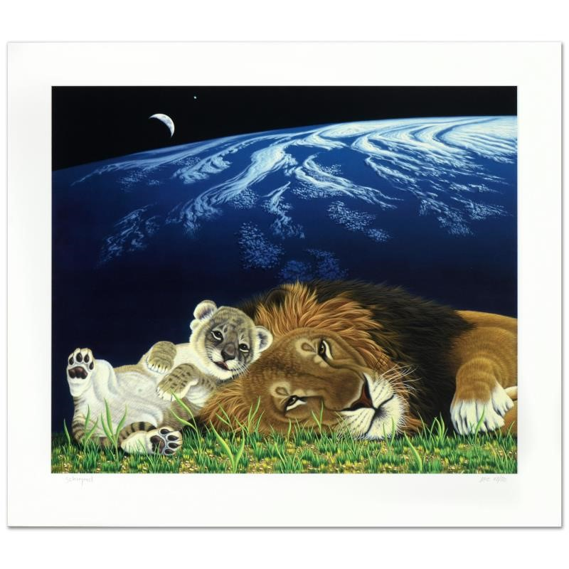 Schimmel Mother Earth, Father Lion