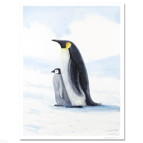 Wyland Antarctic Pengins