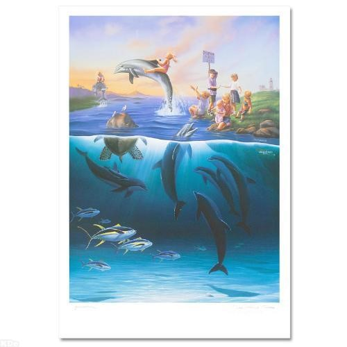 Wyland Dolphin Rides