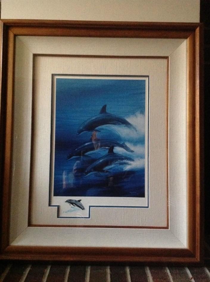 Wyland Dolphin Trio