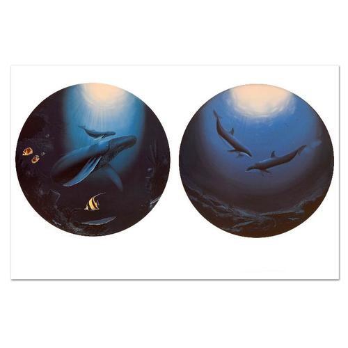 Wyland Innocent Age-Dolphin Serenity