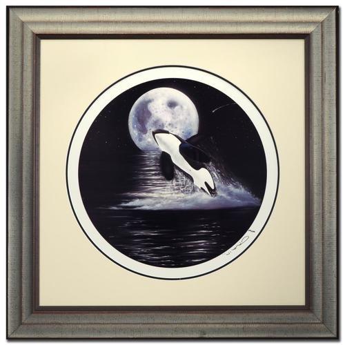 Wyland Orca Moon