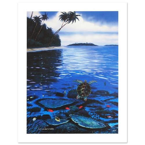 Wyland Two Worlds Of Paradise