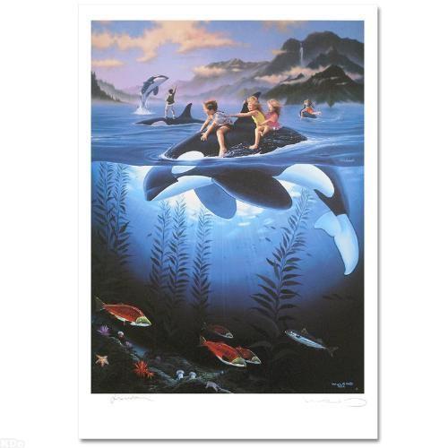 Wyland Whale Rides