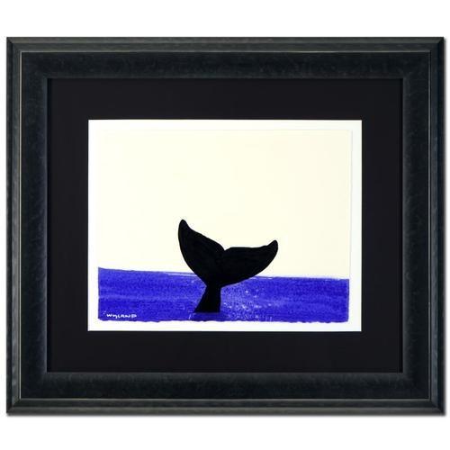 Wyland Original Whale Tail
