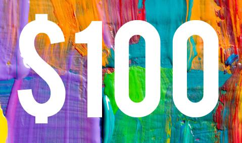 $100 Gift Card Voucher