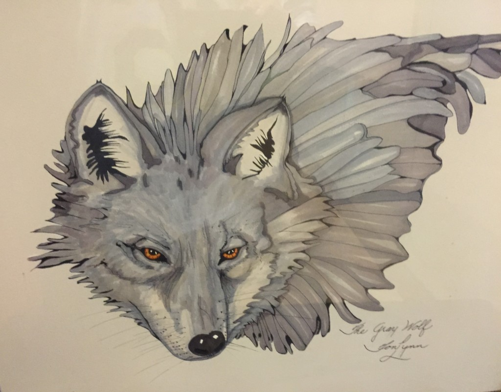 Toni Troxtell The Gray Wolf