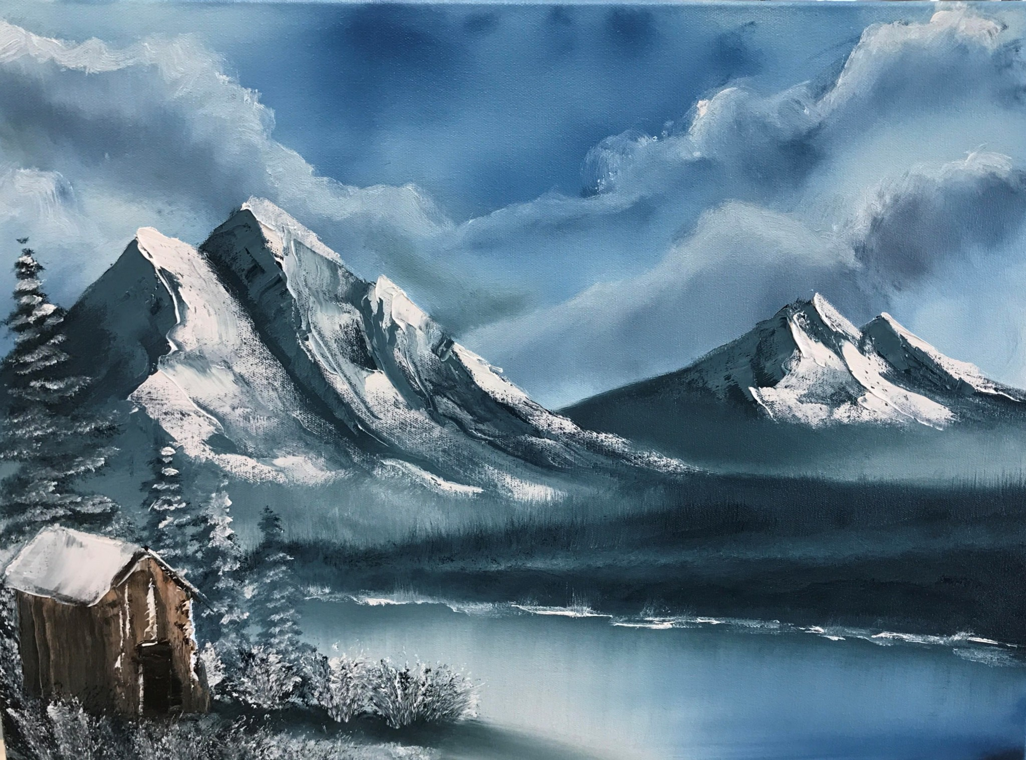 Experience The Joy Of Painting…the Bob Ross Way.-Sign Up Now