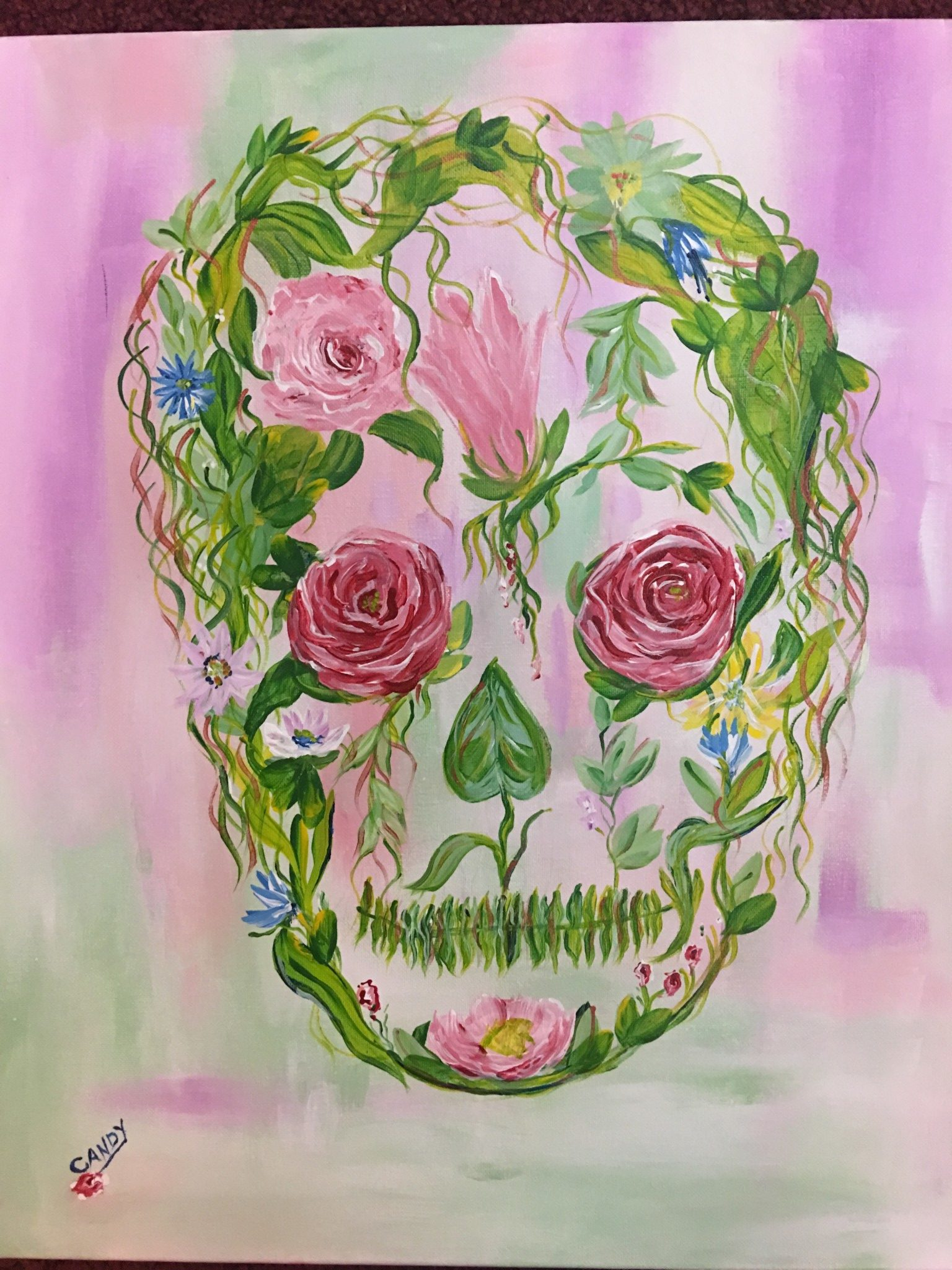 Candys-skull-painting-e1505758421610