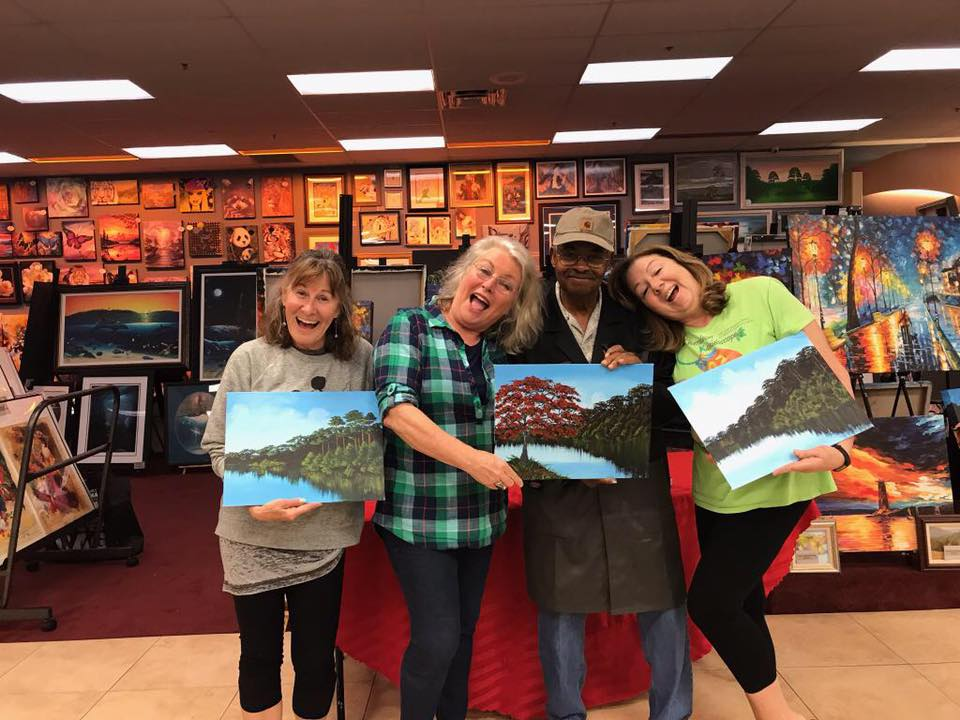 Learn From A Legend – Paint With Florida Highwayman Curtis Arnett