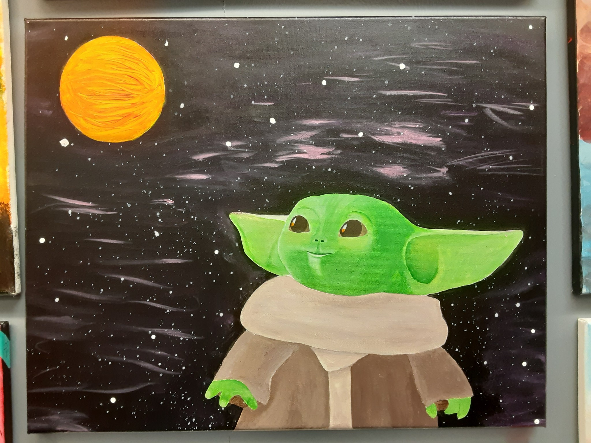 Paint Baby Yoda With Chris