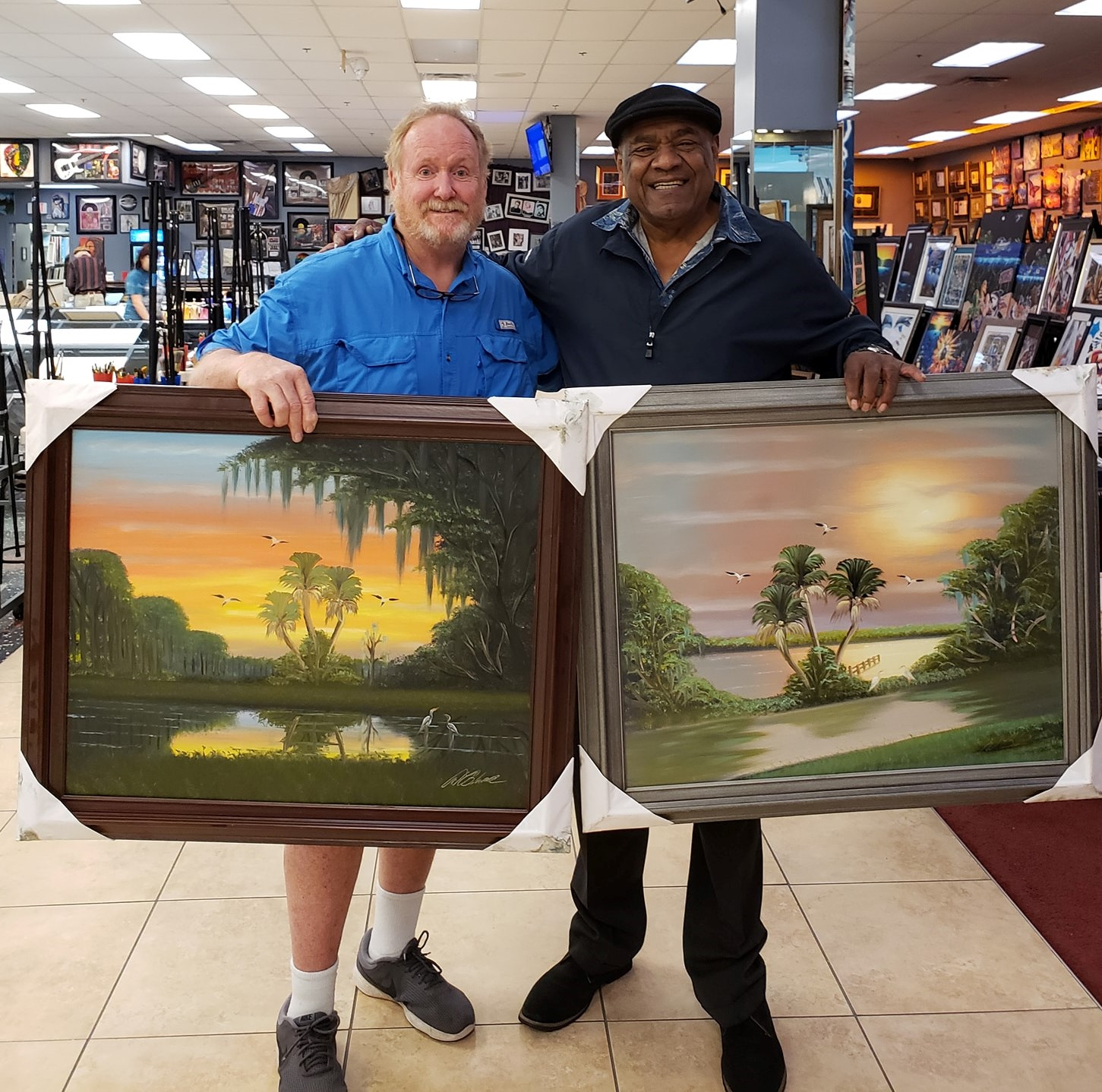 Learn From A Legend – Paint With Florida Highwayman Albert Black