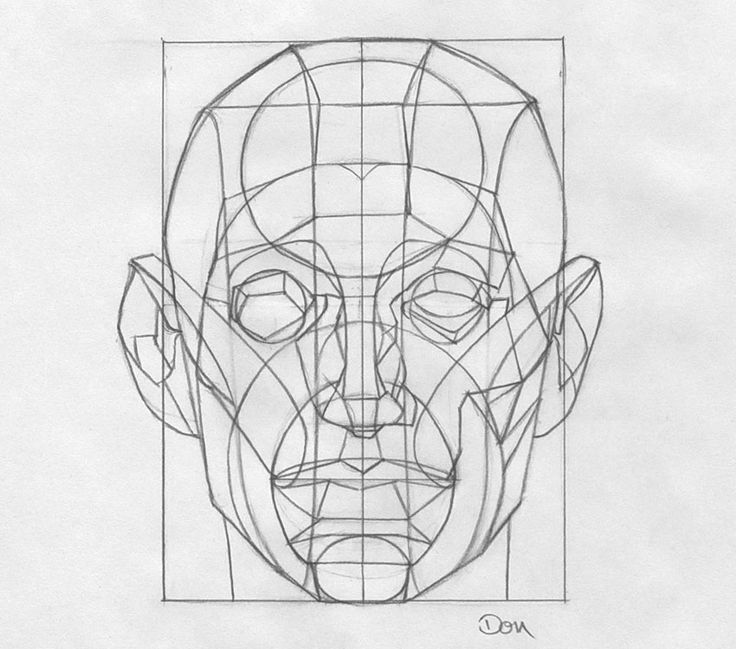 Reilly Method For Portrait Drawing
