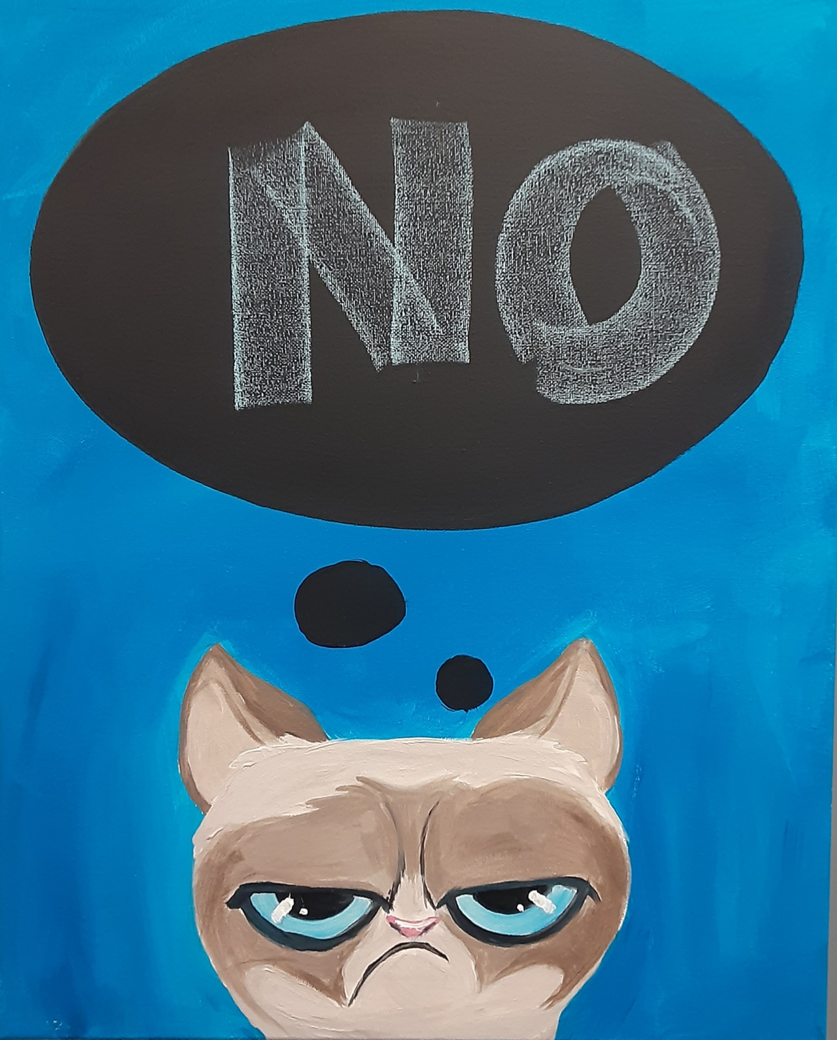 Pet Placards: Catty Cat