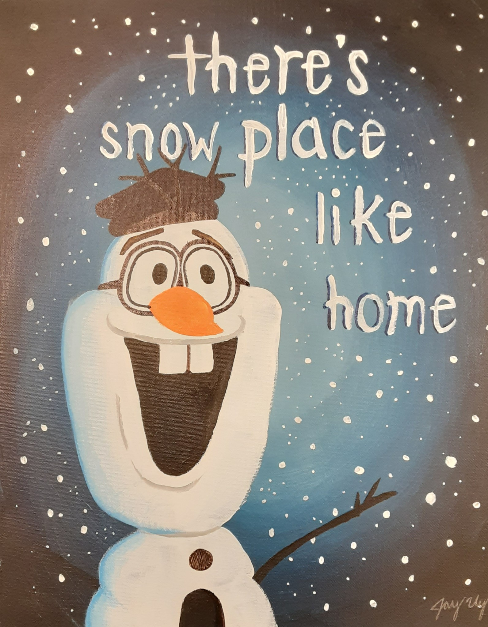 There's Snow Place Like Home