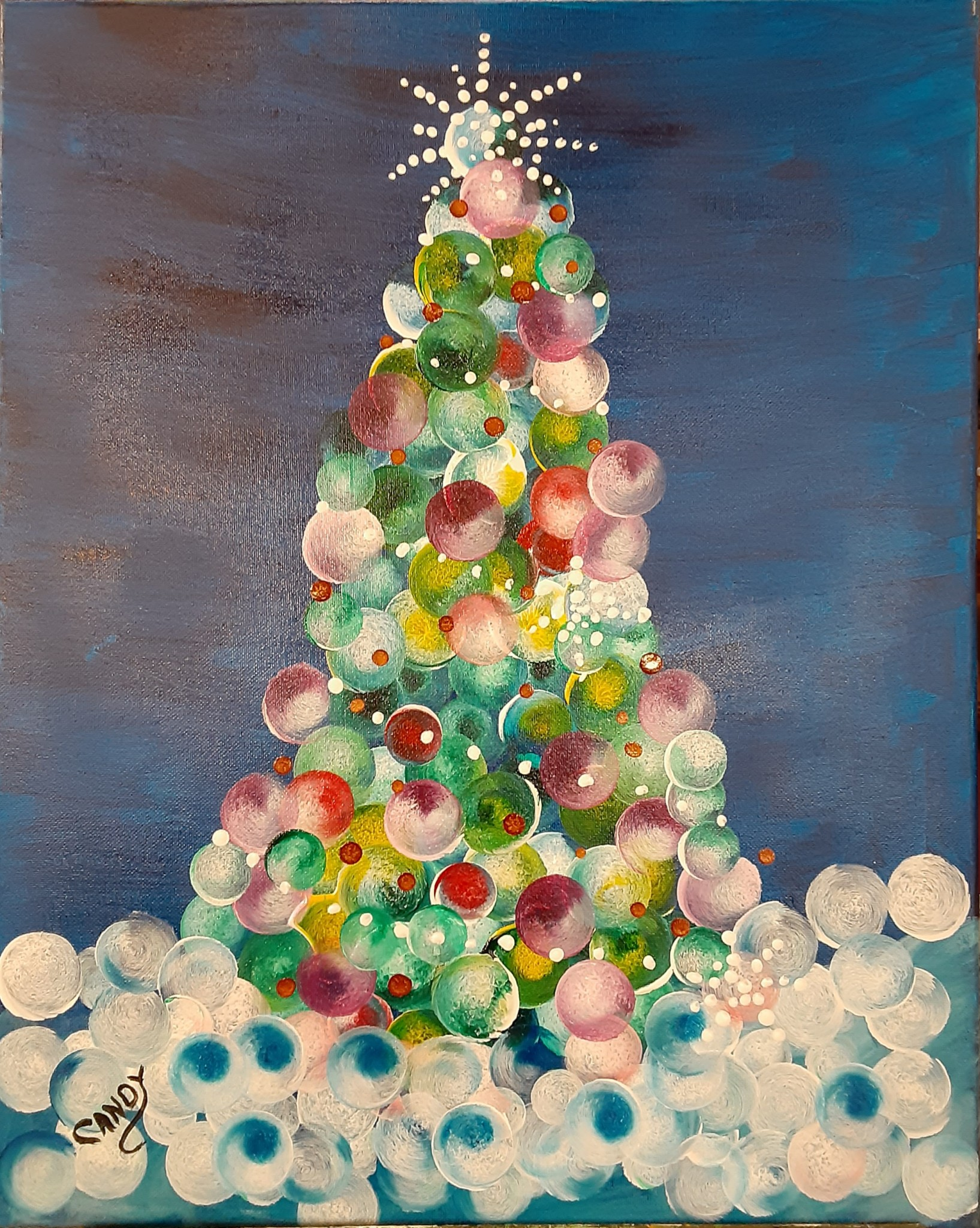 Christmas Tree With Candy