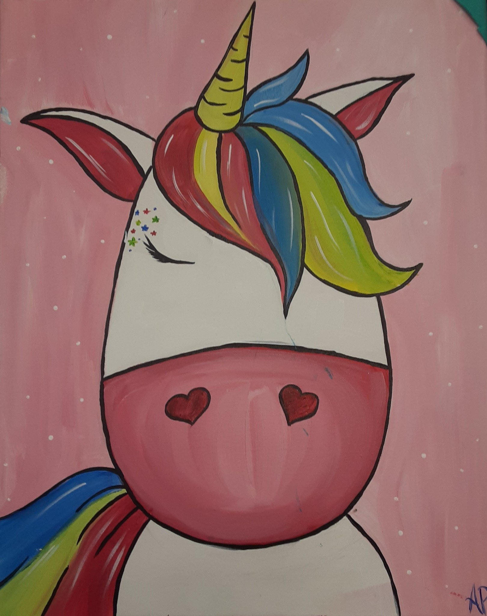 Let's Paint A Unicorn With Daniel Frost