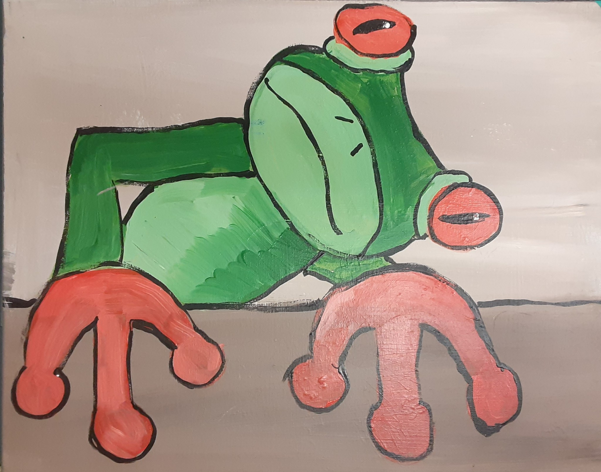 Let's Paint A Tree Frog With Daniel Frost