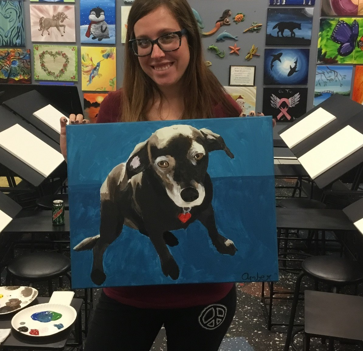 Paint Your Own Pet Or Paint Mom's Pet For Mothers Day
