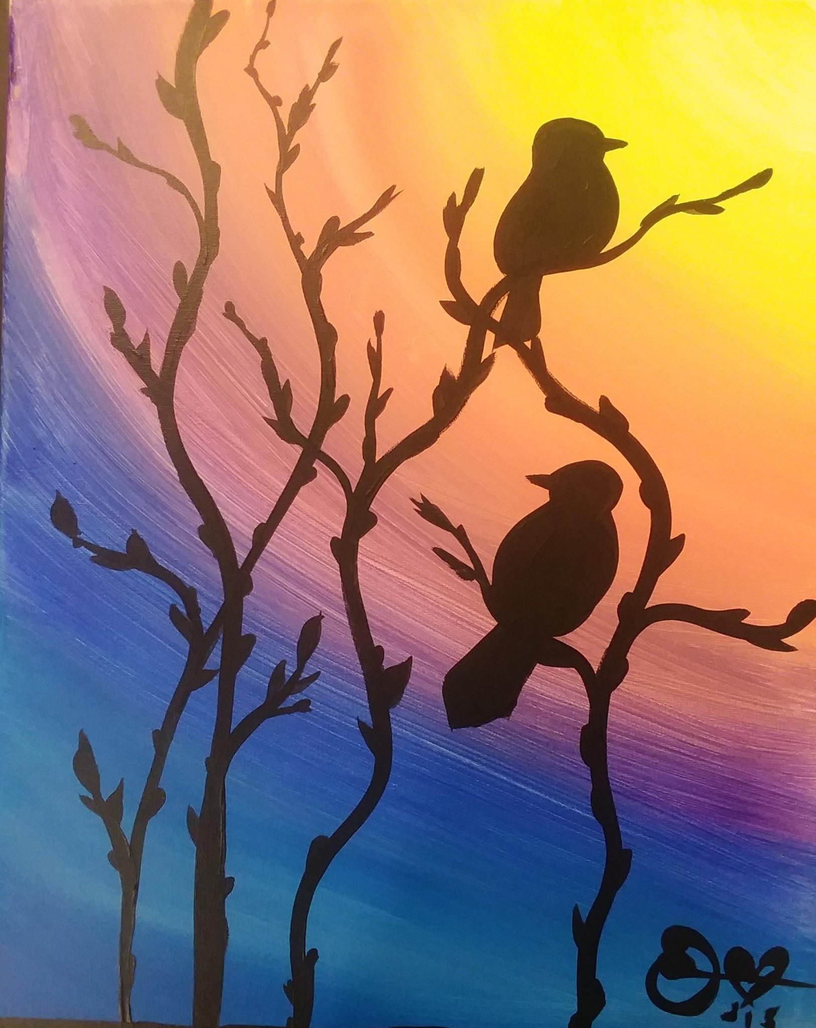 Perched Birds